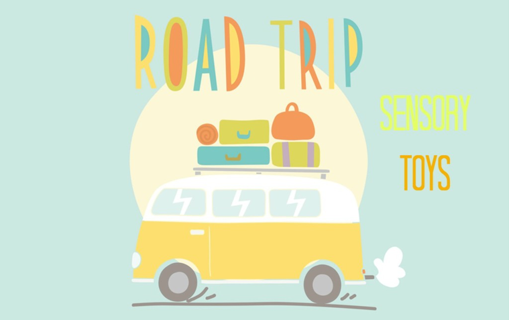 Don't Leave Home without these Sensory Toys for your Summer Road Trips.