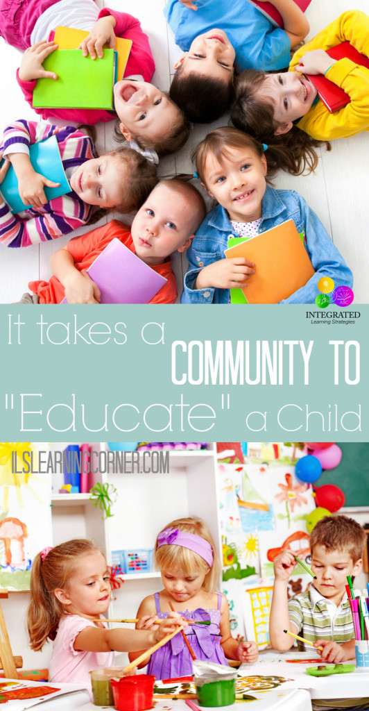 "It isn't enough for a Community to ""Raise"" a Child, but to also ""Educate"" a Child. Here's why. 