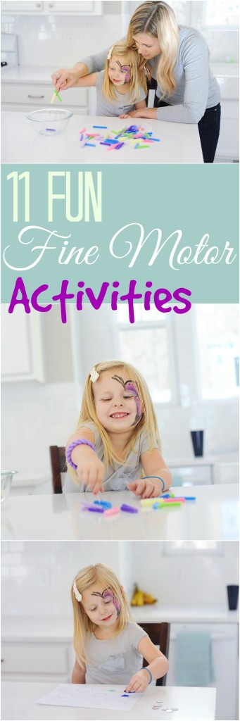 11 Fantastic Fine Motor Activities to improve handwriting | ilslearningcorner.com