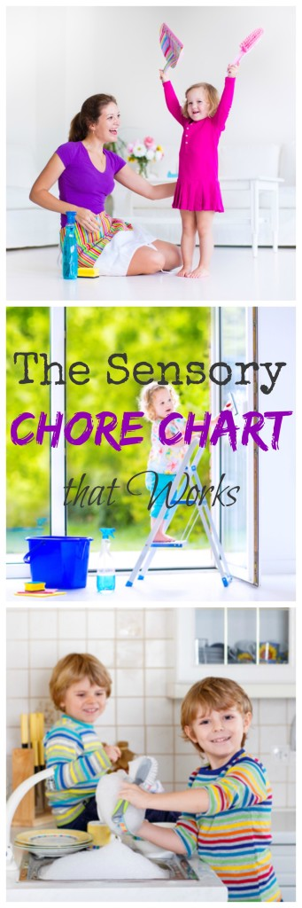 The Best Chore Chart for Sensory Sensitive Kids | ilslearningcorner.com #sensory