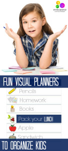 3 Smart Visual Planning Charts for Unorganized Kids | ilslearningcorner.com #backtoschool